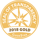 seal of transparency 2018 Gold